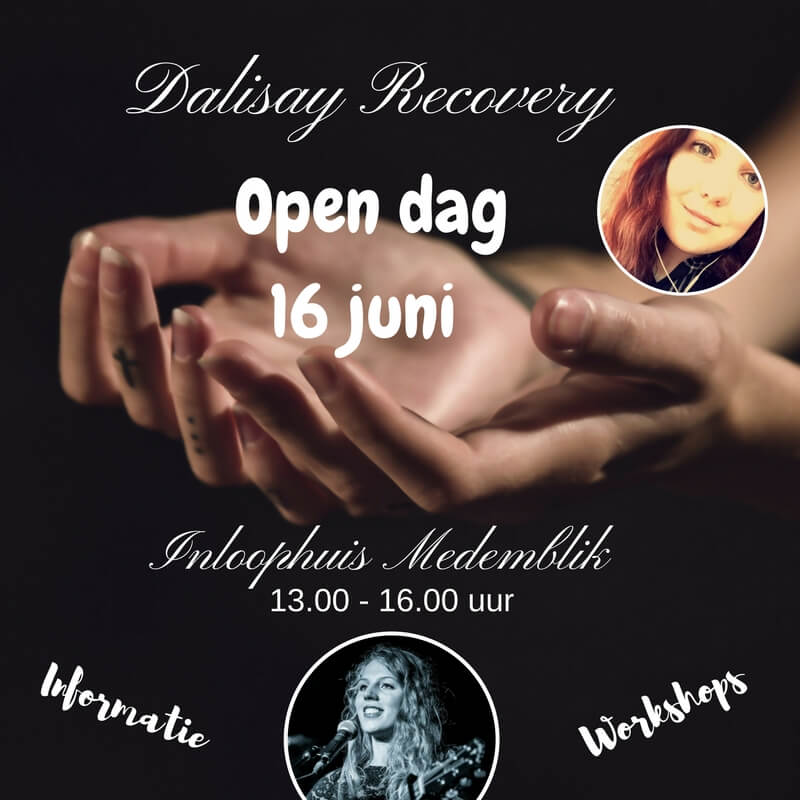 16 juni Open dag Dalisay Recovery